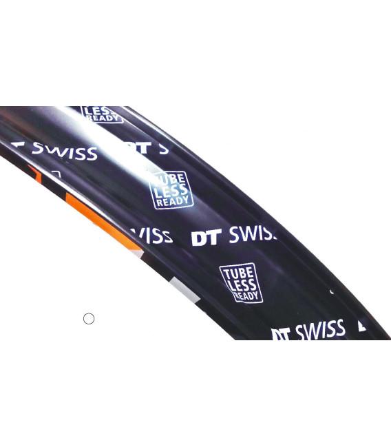 RUEDA DTSWISS 27.5+ HYBRID EBK H1900 35MM 15X110 BOOST DEL