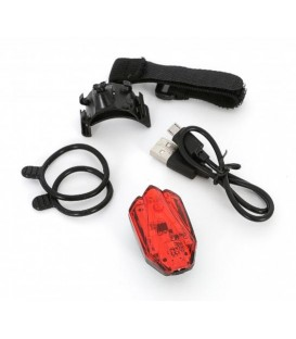 LUZ MSC RED 4 LEDS SEGURIDAD