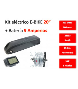 KIT ELECTRICO CONVERSION E-BIKE