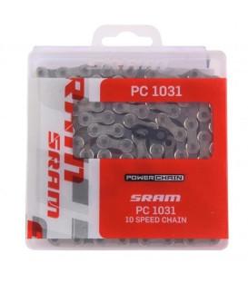 CADENA SRAM PC1031 114 ESLABONES POWERLOCK10V