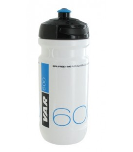 BOTE VAR BLANCO/AZUL 600ML.