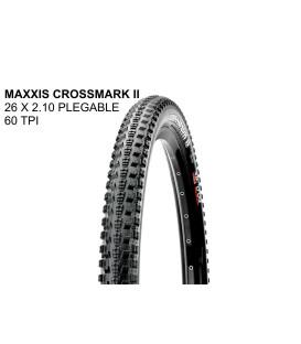 "CUBIERTA MAXXIS CROSSMARK II PLEGABLE 26"""