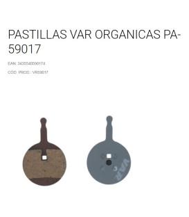 PASTILLAS VAR ORGANICAS VR59017