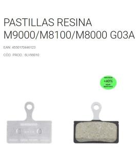PASTILLAS SHIMANO M9000/M8000/RS785 RES GO3A
