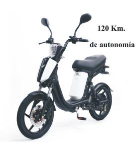 BICICLETA CUCA 48V 30AH (120 KM)