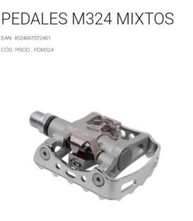 PEDALES SHIMANO M324 SPD MIXTOS