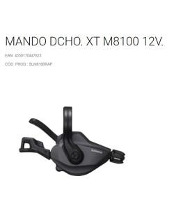 MANDO SHIMANO M8100 12V C/ABRAZ C/DIS /I-SPEC