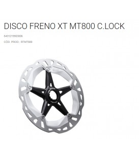 DISCO SHIMANO MT800 XT C.LOCK ICE-TEC 180MM