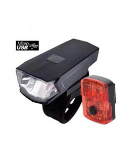 LUCES JL-WENTI DEL+TRAS USB LEDS