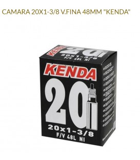 CAMARA KENDA 20X1.75 V.FINA 48MM