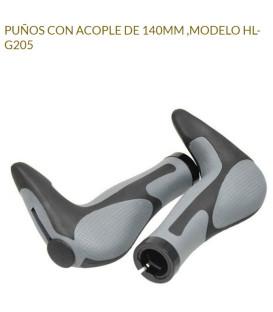 PUÑOS JL HL-G205 C/ACOPLES, 140MM