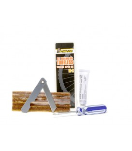 KIT REPARACION TUBELESS CON MECHAS M-2