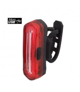 LUZ JL TRASERA 16LEDS USB RECARGABLE C/ SOPORTE