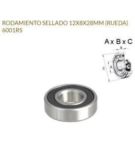 RODAMIENTO SELLADO 6001RS 12X8X28