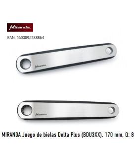 BIELAS MIRANDA DELTA PLUS BOSCH 170MM Q8